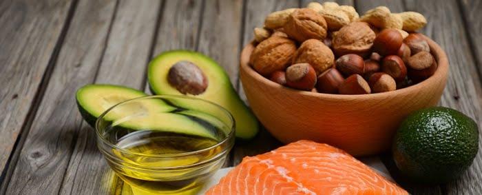 Verschillende gezonde etenswaren
